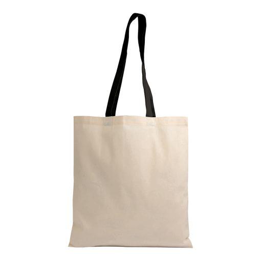 Shopper bag in cotone naturale
