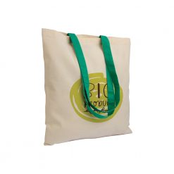 Shopper bag in cotone naturale