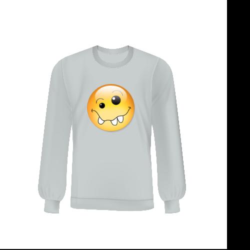 """Felpa Bambino""""Emoji-smiley"""""""